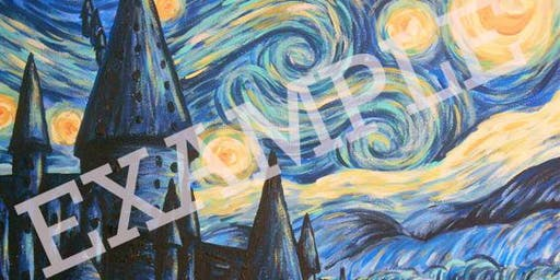 Painting with Nick Criscitelli: Starry Night @ Hogwarts
