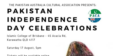 Pakistan Independence Day Celebrations & Dinner - Queensland tickets