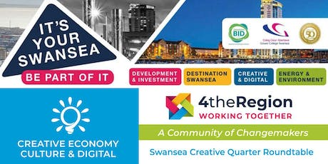 Swansea Creative Quarter Roundtable tickets