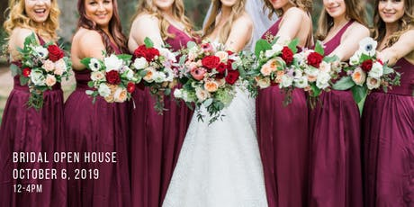 October Bridal Open House tickets