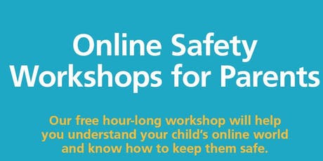 NSPCC and O2 Parent Workshop-Online Safety tickets