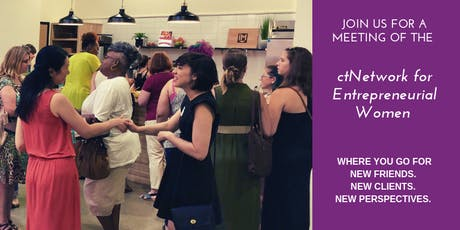 ctNetwork for Entrepreneurial Women (N.E.W.) Meeting #3 tickets