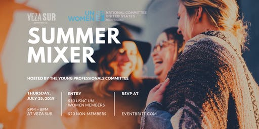 Summer Mixer hosted by USNC for UN Women Miami Chapter Young Professionals