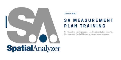 SA Measurement Plan Training