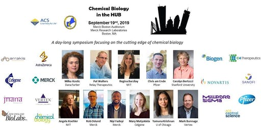"""Third Annual """"Chemical Biology in the HUB"""" Symposium at Merck in Boston, MA, 19-SEPT-2019"""