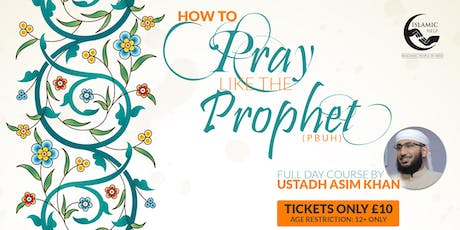 How to Pray like the Prophet - Manchester tickets