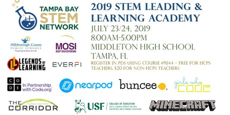 2019 Tampa Bay STEM Network Leading and Learning Academy tickets