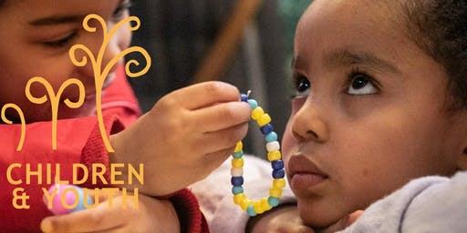 """""""TRAILING CLOUDS OF GLORY"""":  NURTURING THE SPIRITUALITY OF CHILDREN"""