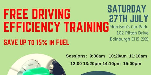Driving efficiency Training (free) - Save up to 15% in fuel
