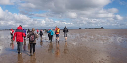 Morecambe Bay's Tidal Islands : Walk to Piel Island