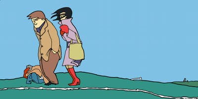 Council Skies Talk By Pete McKee