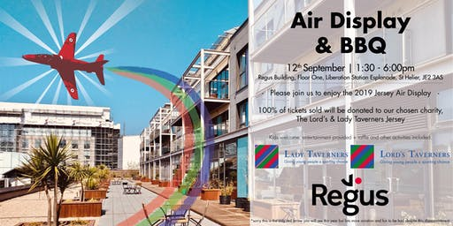 Air Display & BBQ @Regus Jersey