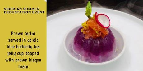 Food Infusion Event: Siberian Summer Degustation tickets