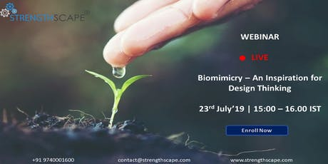 [Free Webinar] Biomimicry – An Inspiration for Design Thinking Tickets