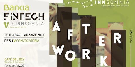 Lanzamiento de la V convocatoria de Bankia Fintech by Innsomnia entradas