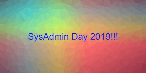 System Administrator's Day Celebration