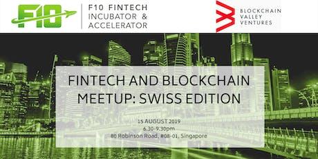FinTech and Blockchain Meetup: Swiss Edition tickets