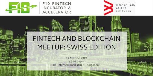 FinTech and Blockchain Meetup: Swiss Edition