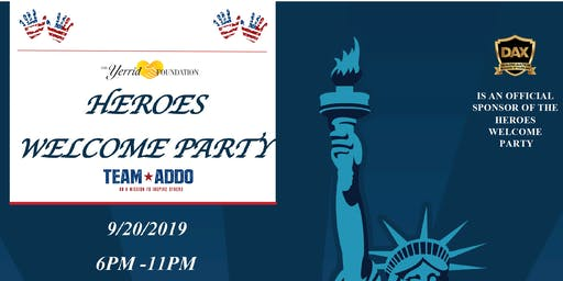 4th Annual Heroes Welcome Party