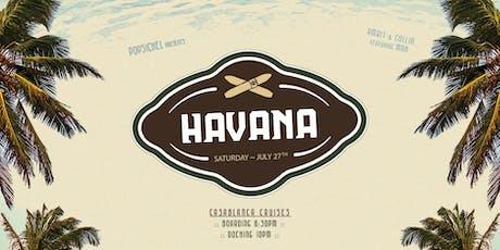 Boat Party: Havana tickets