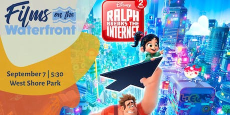 Films on the Waterfront: Ralph Breaks the Internet tickets