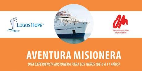 Aventura Misionera entradas