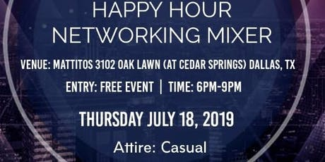 Happy Hour Networking Mixer tickets