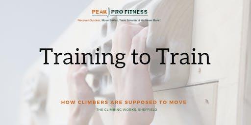 EXPERT WORKSHOP - Training to Train