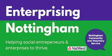 Enterprising Nottingham - Business Planning 2 - Market Research/Marketing tickets