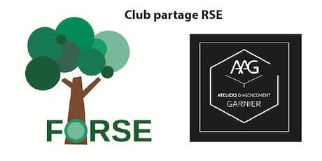 Club partage RSE FORSE- Agencement Garnier tickets