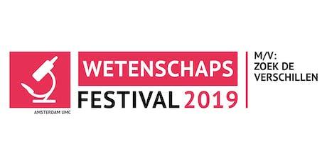 Wetenschapsfestival 2019 tickets