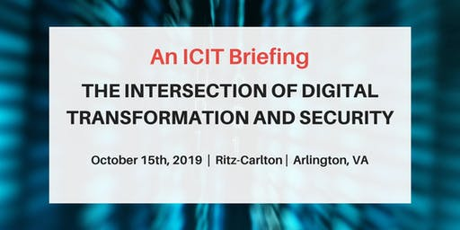 An ICIT Briefing - October 2019