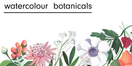 Watercolour Botanicals tickets