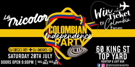 Colombian Independence Rooftop Party! tickets