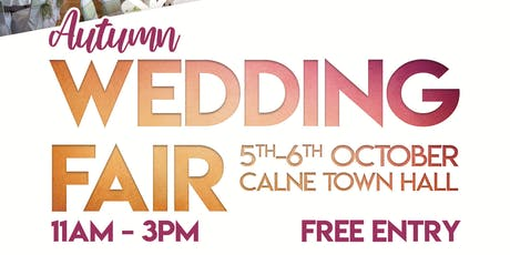 Autumn Wedding Fair at Calne Town Hall tickets