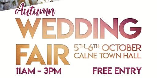 Autumn Wedding Fair at Calne Town Hall