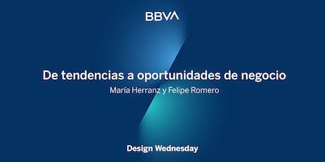Design Wednesday: De tendencias a oportunidades de negocio entradas