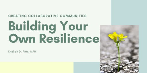 Building Your Own Resilience