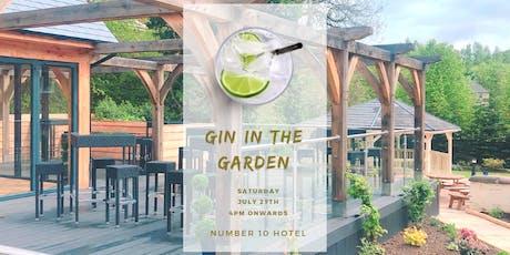Gin In The Garden tickets