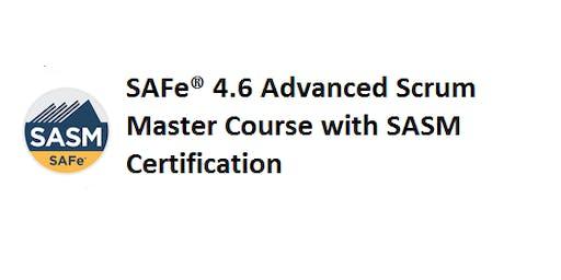 SAFe® 4.6 Advanced Scrum Master with SASM Certification 2 Days Training in Sacramento, CA