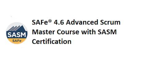 SAFe® 4.6 Advanced Scrum Master with SASM Certification 2 Days Training in San Diego, CA tickets