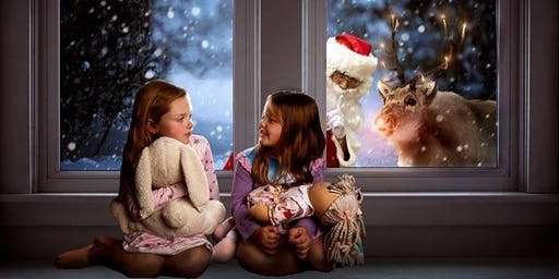 Waiting for Santa Digital Art Image