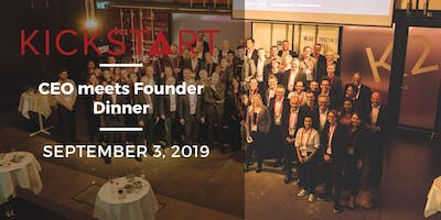 CEO meets Founder Dinner 2019