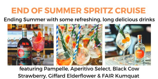 (SOLD OUT) End of Summer Spritz Cocktail Cruise - 7pm (The Liquorists)