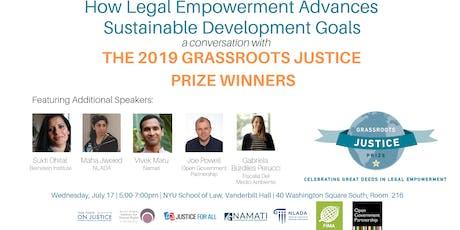 How Legal Empowerment Advances Sustainable Development Goals tickets