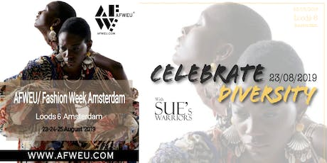 AFWEU Fasion Week X SUE's Warriors tickets