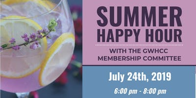 Summer Happy Hour with the GWHCC Membership Committee