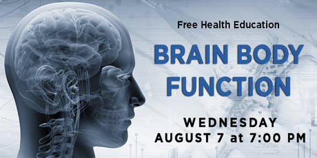 Brain Body Function tickets