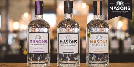 Masons Yorkshire Gin Tasting & Cocktail Master Class tickets