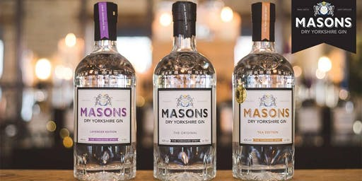 Masons Yorkshire Gin Tasting & Cocktail Master Class